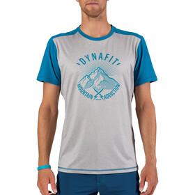 Dynafit Transalper Light Camiseta Manga Corta Hombre, gris/azul